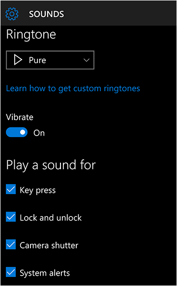 Work follow step 2 how to change ringtone in windows 10 mobile