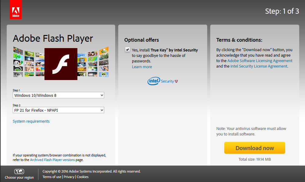 How to Download Adobe Flash Player for Windows 10