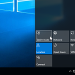Making your Windows 10 like a Tablet