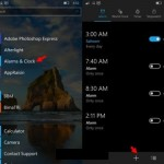 How to use alarms in windows 10 mobile