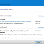 Fix: One or More Network Protocols Are Missing in Windows 10