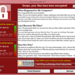 Version of Windows Affected by Malware Ransomware WannaCry