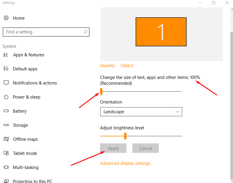 how to see file sizes in windows 10