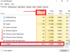 Fix wsappx High Disk and CPU Usage 100% in Windows 10