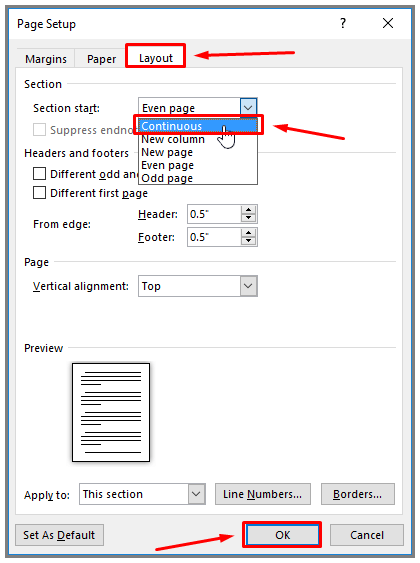 How To Insert Section Headers In Word For Resume