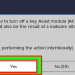 How to Disable Avast Antivirus Temporarily or Permanently