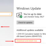 Windows 10 1903 Update KB4497935 (OS Build 18362.145)