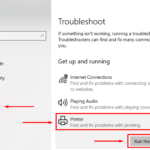 Windows 10 Fix Printer Problems with Printing Troubleshooter