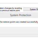 How to Create System Restore Point in Windows 10