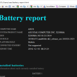 Check Battery Health in Windows 10