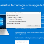 Free Upgrade Windows 7/8.1 to Windows 10 up to 31 Dec 2017