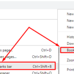 Create, view & edit bookmarks Google Chrome in Windows 10